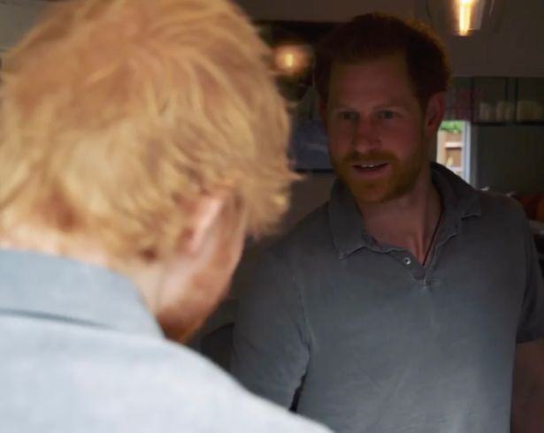 Ed Sheeran and Prince Harry Recorded Video Together