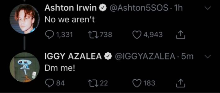 5 Seconds of Summer collab with Iggy Azalea