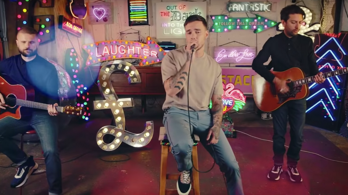 Liam Payne Strips Back His New 'Stack It Up' In An Acoustic Version