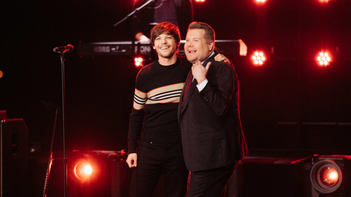 ICYMI: Louis Tomlinson SASSED James Corden and We are GAGGING