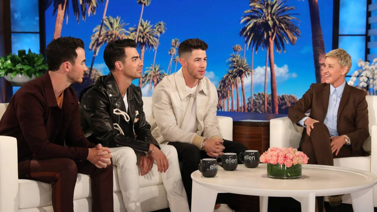 The Jonas Brothers Took Over The Ellen Show – Here Are The Best Bits From The Episode