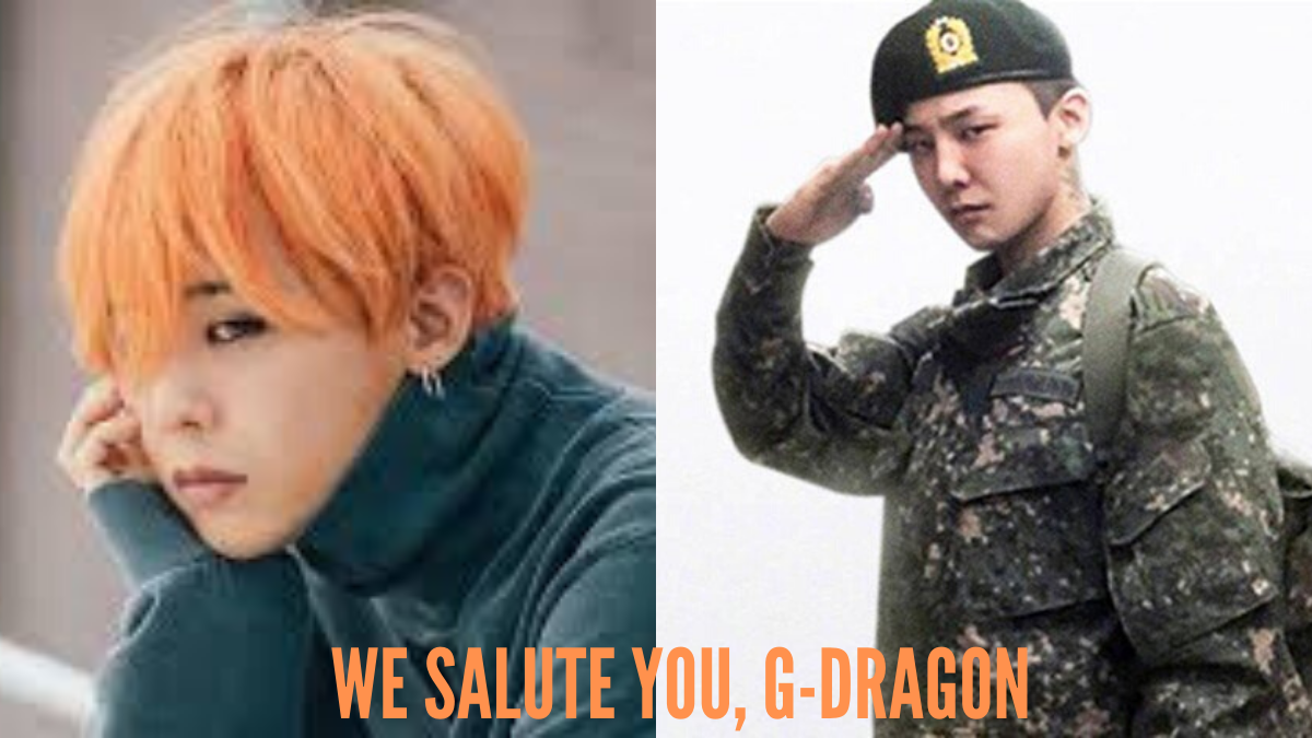 BIGBANG's G-Dragon Discharges From Military