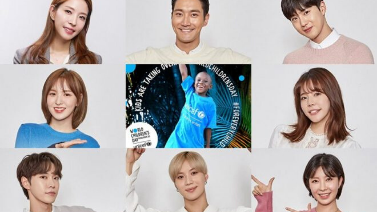 Big Kpop Idols Unite For Unicef Charity Single The Honey Pop