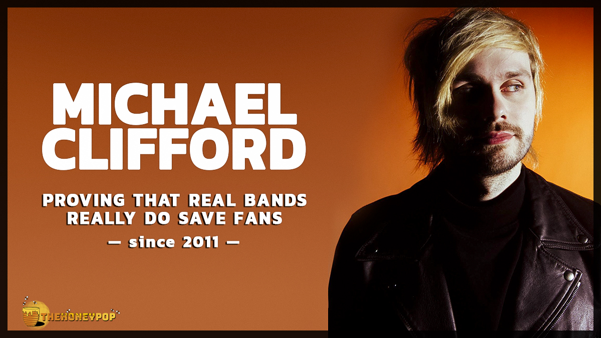 Michael Clifford Proves Real Bands Really DO Save Fans