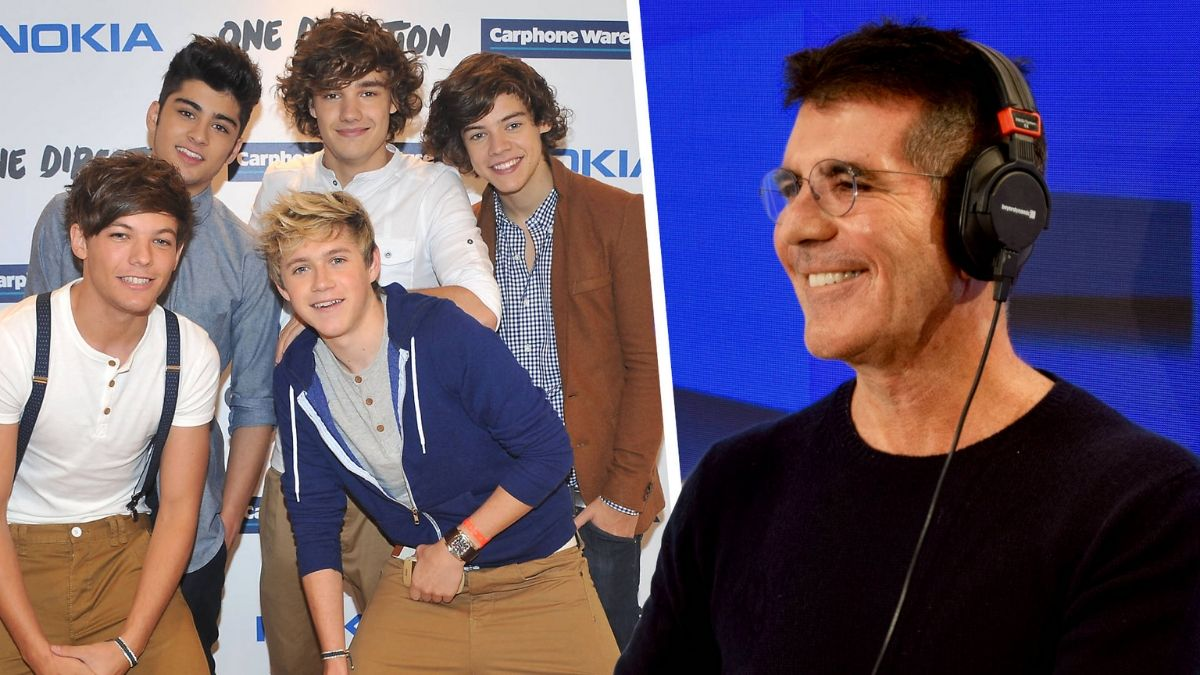 Simon Cowell Hints At 1D Reunion As He Plugs New TV Show!
