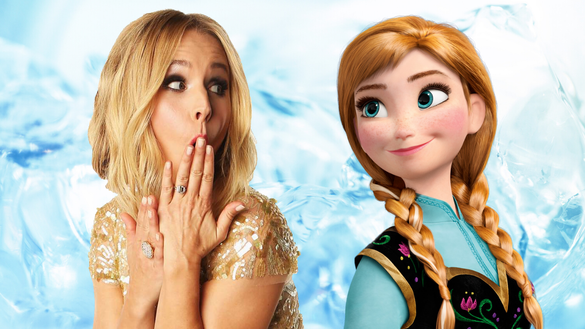 10 Times Kristen Bell Was Actually Princess Anna