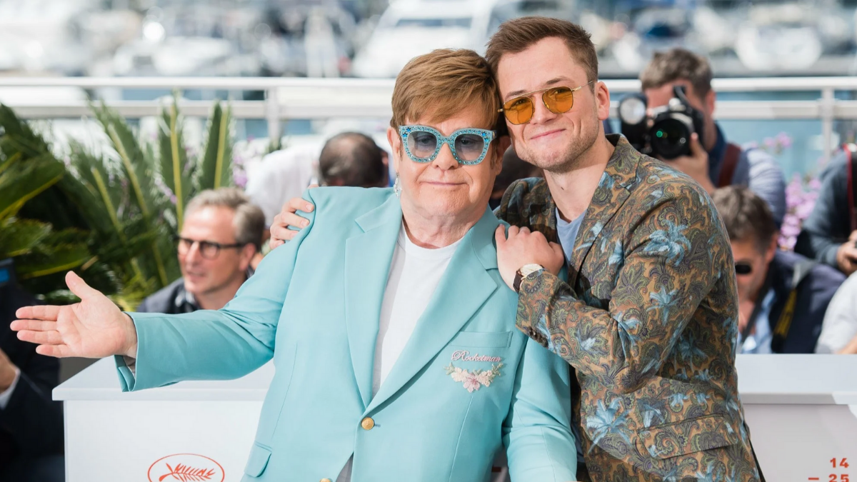 Elton John & Taron Egerton '(I'm Gonna) Love Me Again' Purple Disco Machine Remix Unveiled!