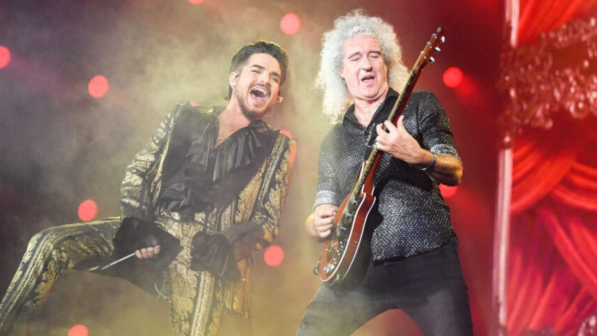Adam Lambert and Queen Unite Once Again to Perform at a Fire Fight Australia Benefit