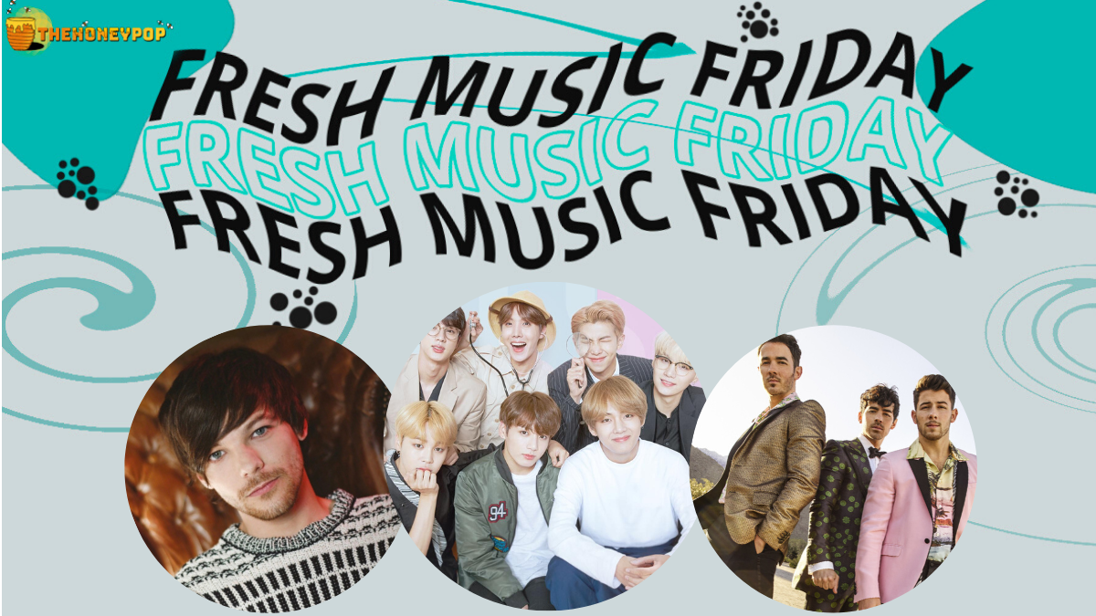Fresh Music Friday: Louis Tomlinson, BTS, Jonas Brothers, and MORE!