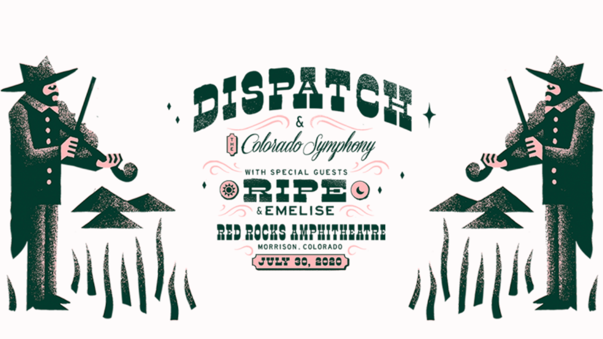Dispatch Announce First Ever Performance with The Colorado Symphony