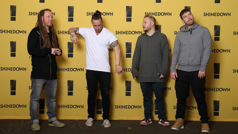 'ATTENTION ATTENTION' Shinedown Are Killing It!