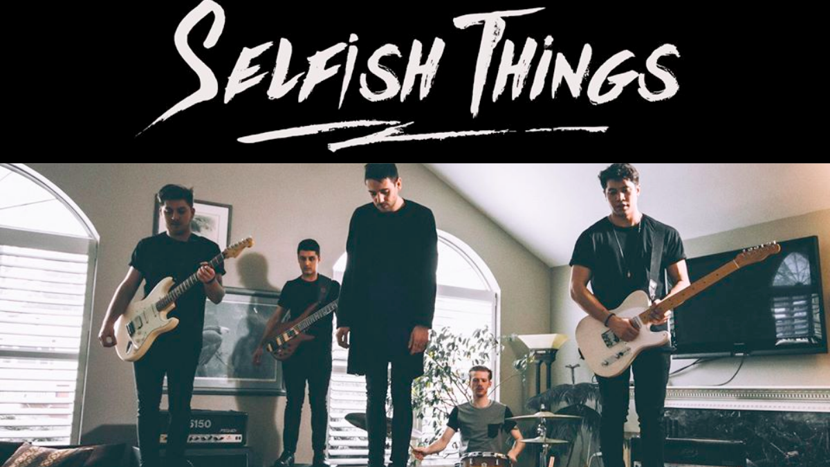 Selfish Things Have Really Torn Us Up With This Alt Version Of The Song
