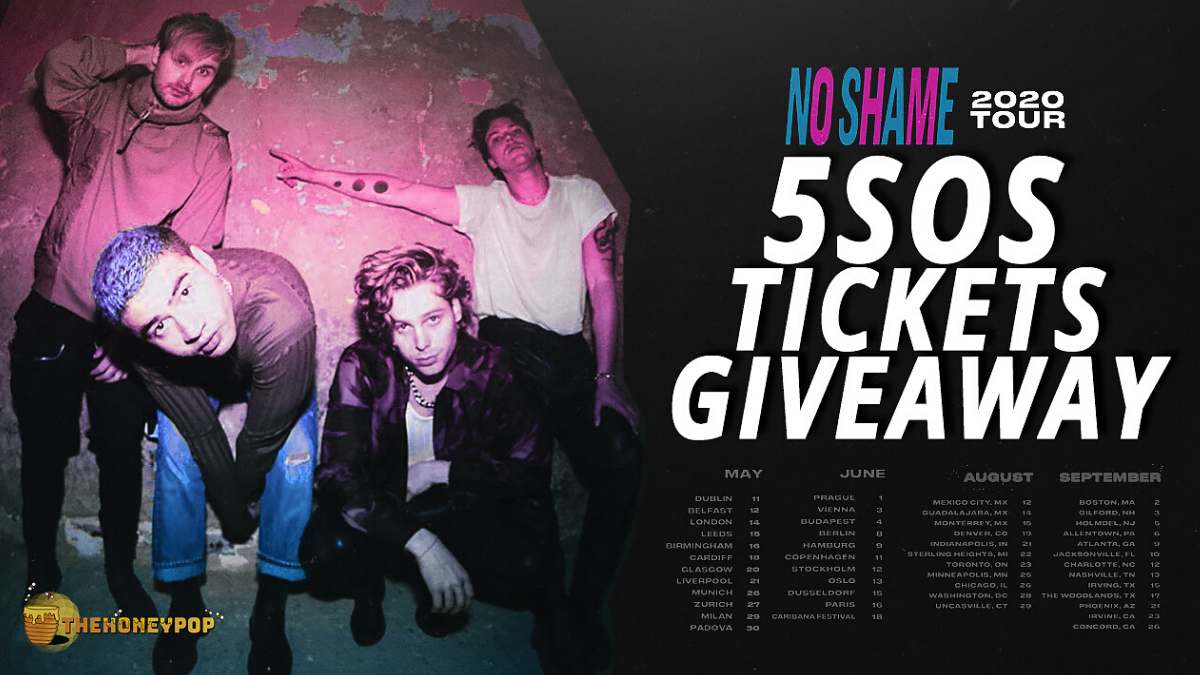 There Is No Shame In This 5SOS Ticket Giveaway