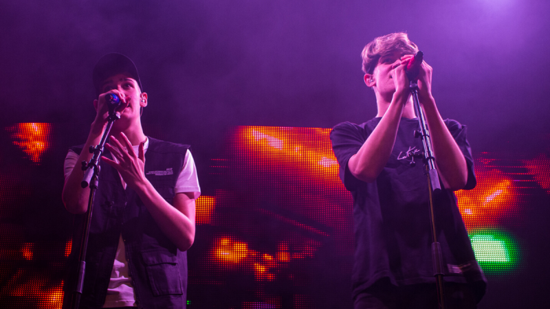 Max & Harvey kept the energy high in their London show