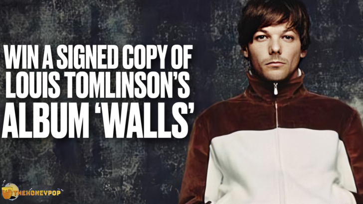 This Signed Copy of Louis Tomlinson's Walls Will Kill Your Mind. Here's How to Win…
