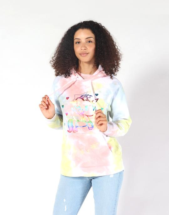 5SOS Michael Clifford Peace Out Tie Dye Hoodie