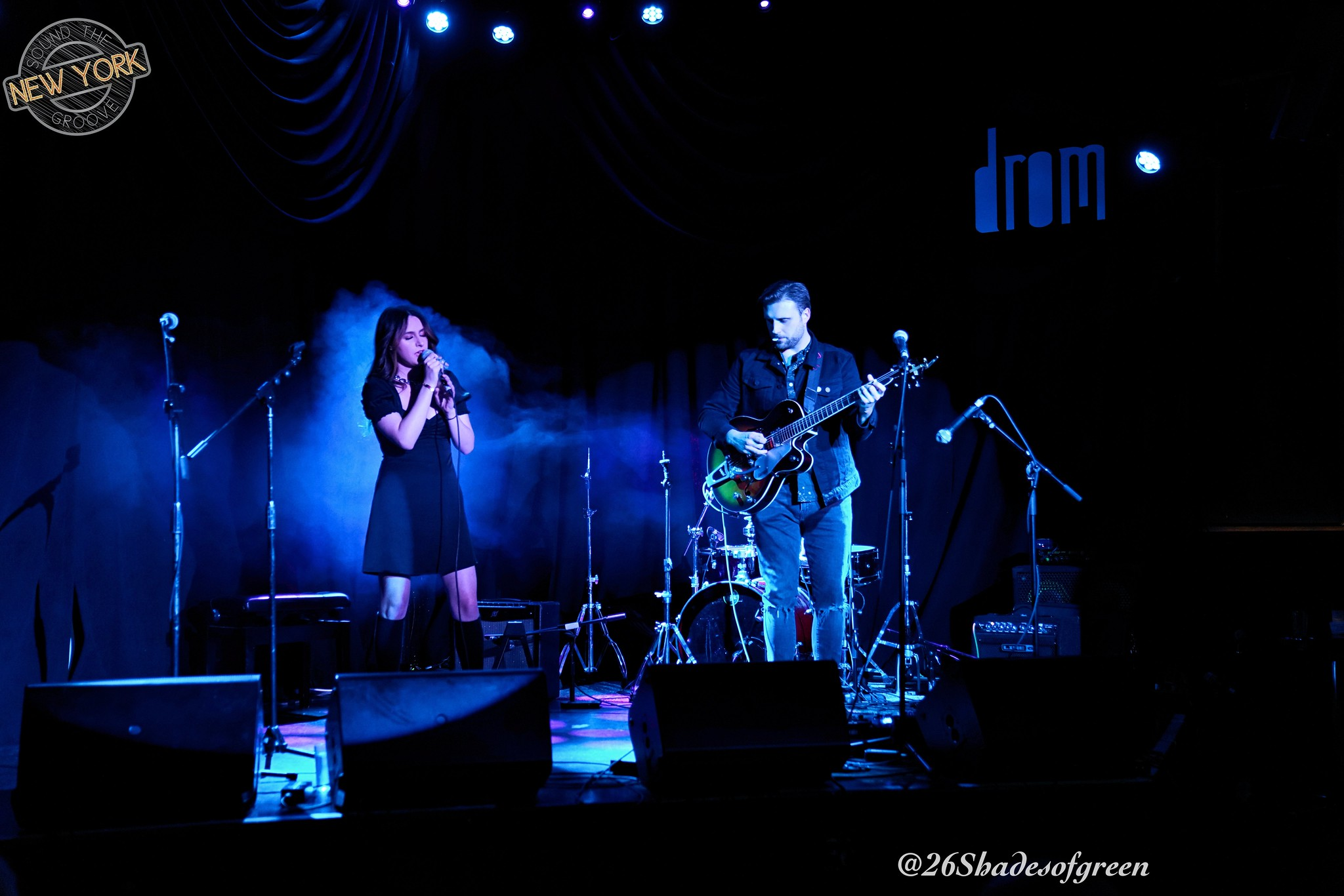 Veronica Frey with Eric Drylewicz @ DROM NYC; 02.26.20