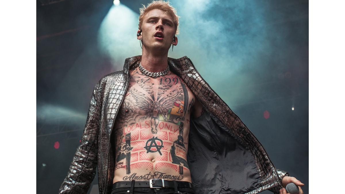 Why Are You Here? For Machine Gun Kelly, Of Course!