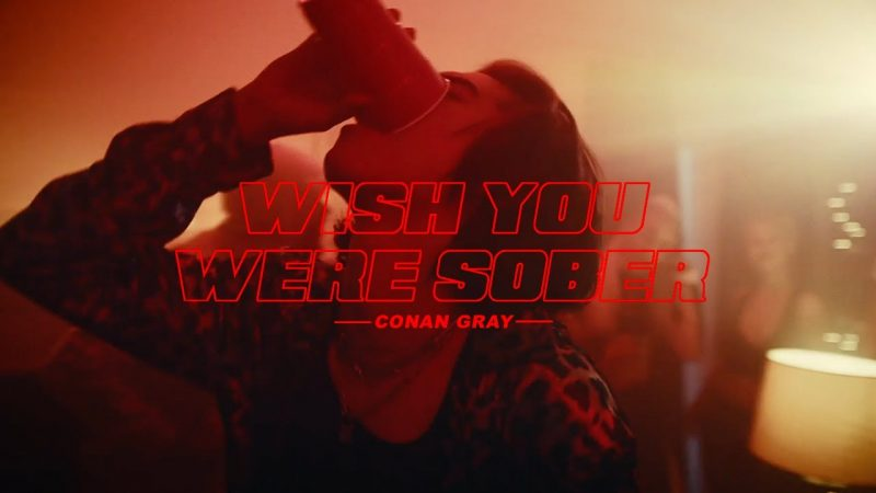 Conan Gray's 'Wish You Were Sober' Has Us In Our Feels
