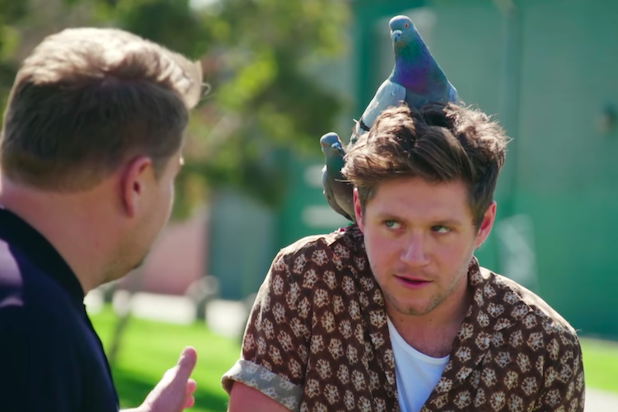 The Late Late Show featuring Niall Horan really helped him face his fears!
