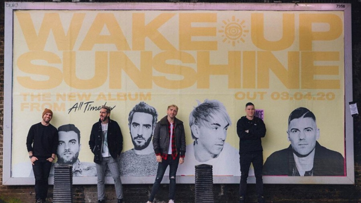 All Time Low Says It's Time To Wake Up, Sunshine Because Their New Album Is Here!