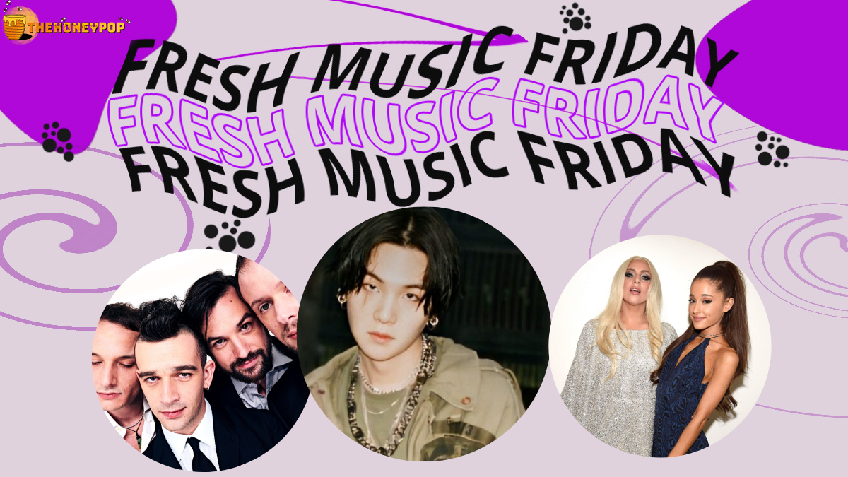Fresh Music Friday: Agust D, The 1975, Lady Gaga and Ariana Grande, and MORE!