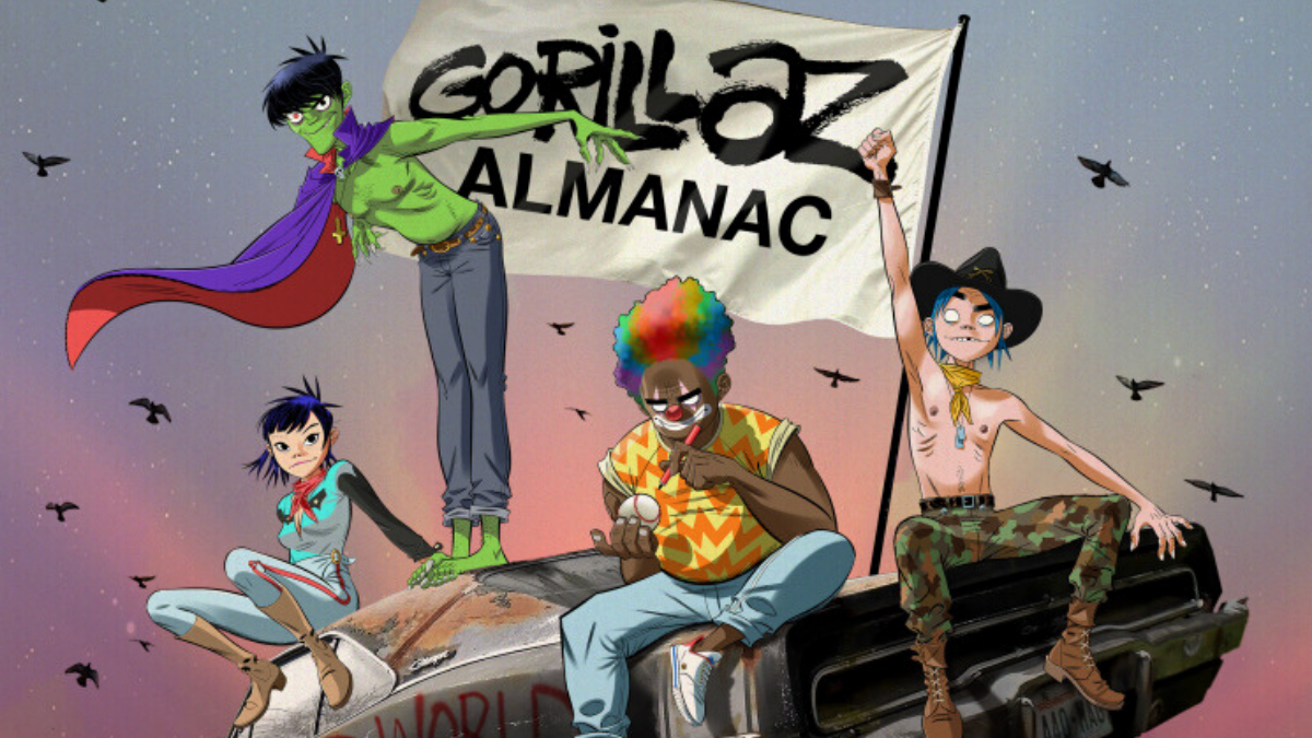 ALMANAC: 20 Years of Gorillaz… This Is Not A Drill