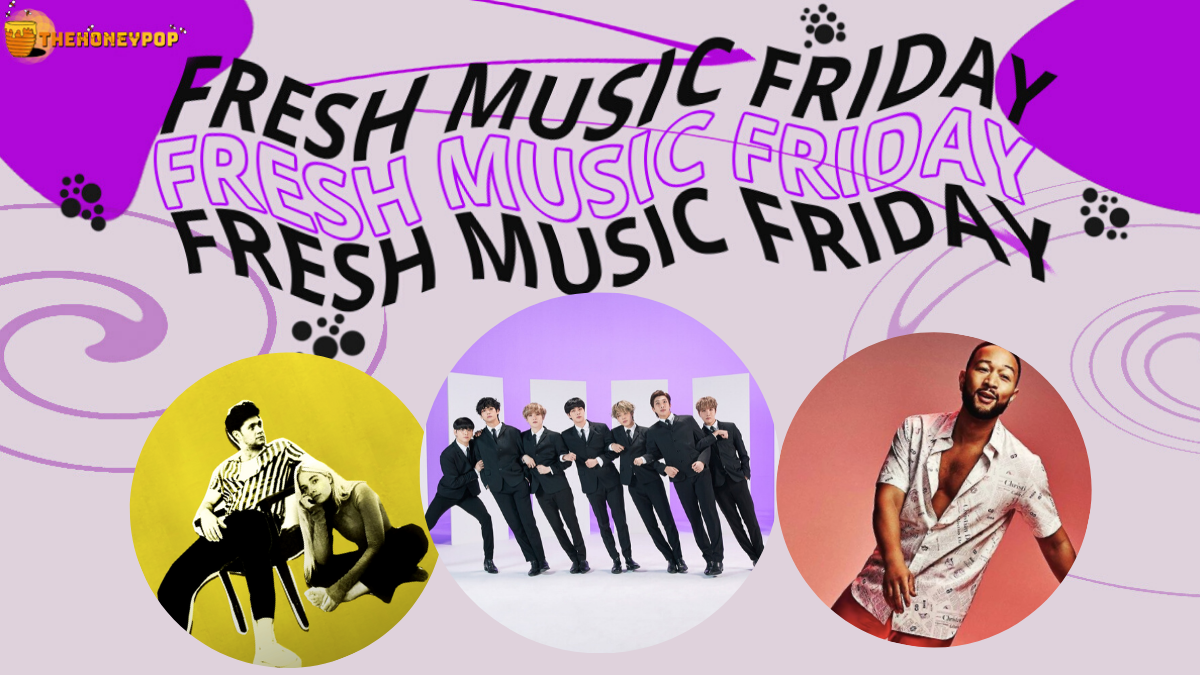 Fresh Music Friday: BTS, John Legend, Ashe ft Niall Horan, and MORE!