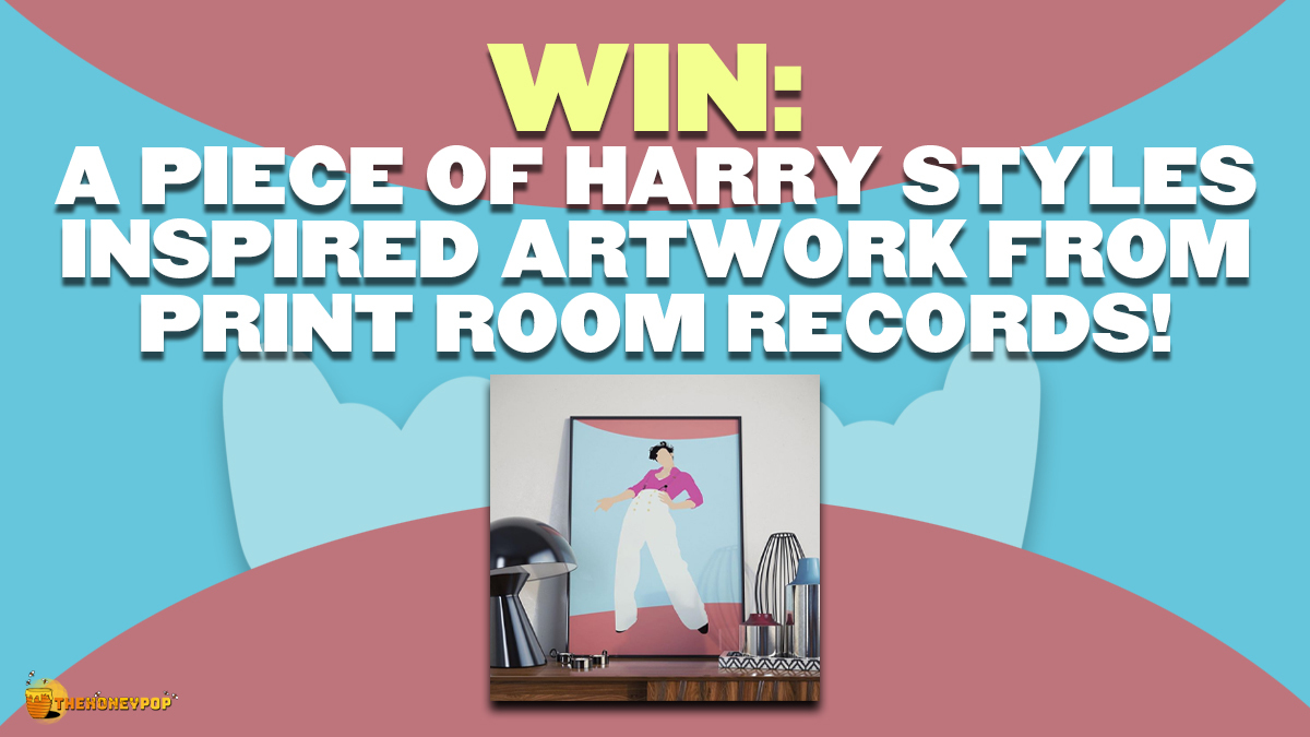 WIN: Spice up Your Room by Winning this Harry Styles Artwork!