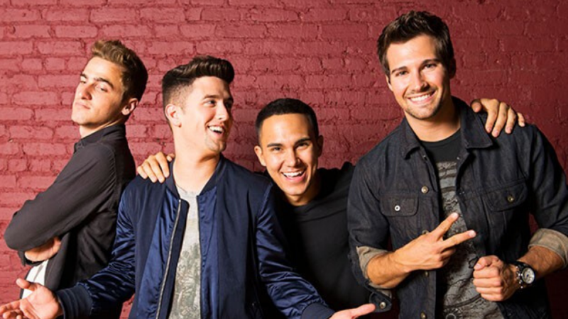 A Big Time Rush reunion!