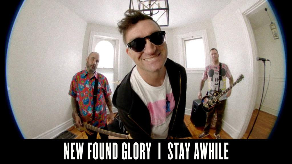 'Stay Awhile' Or At Least Long Enough for New Found Glory