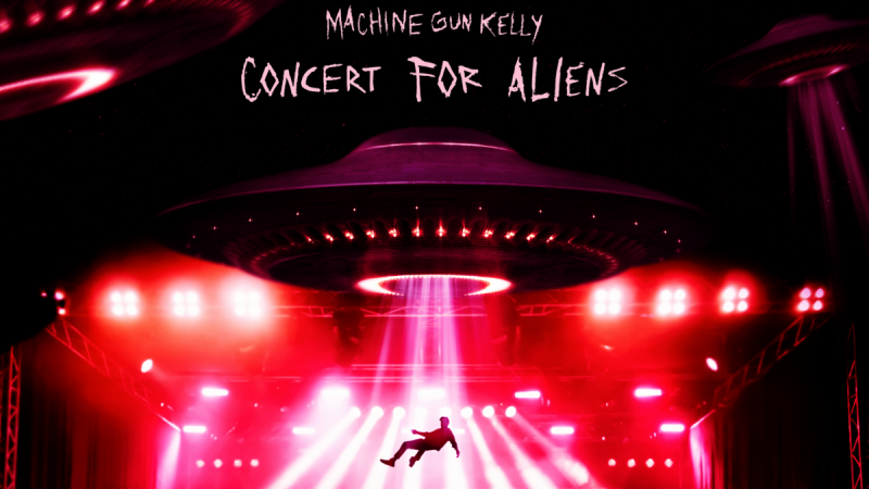 MGK & Travis Barker Dropped The Video For 'concert for aliens' & It's Other Worldly!