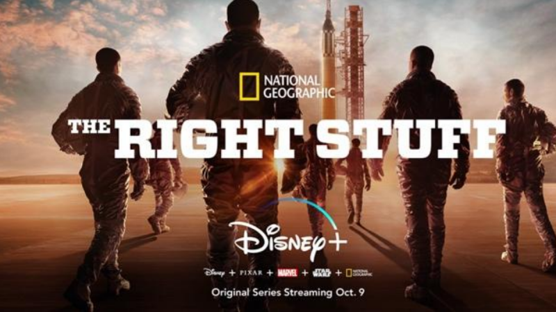 The Right Stuff Coming to Disney+ This October