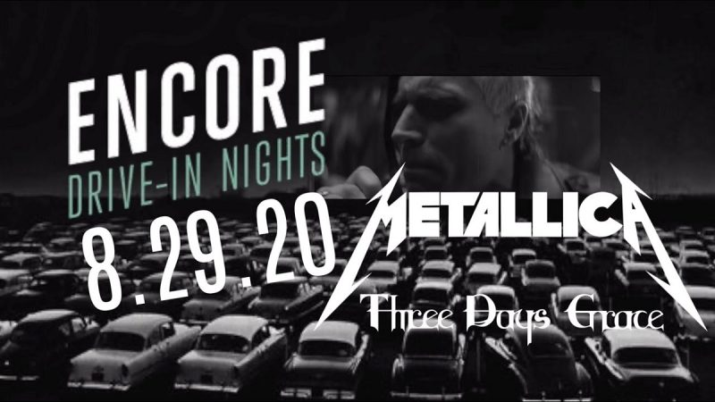 Metallica's First 2020 Concert is Heading to a Screen Near You