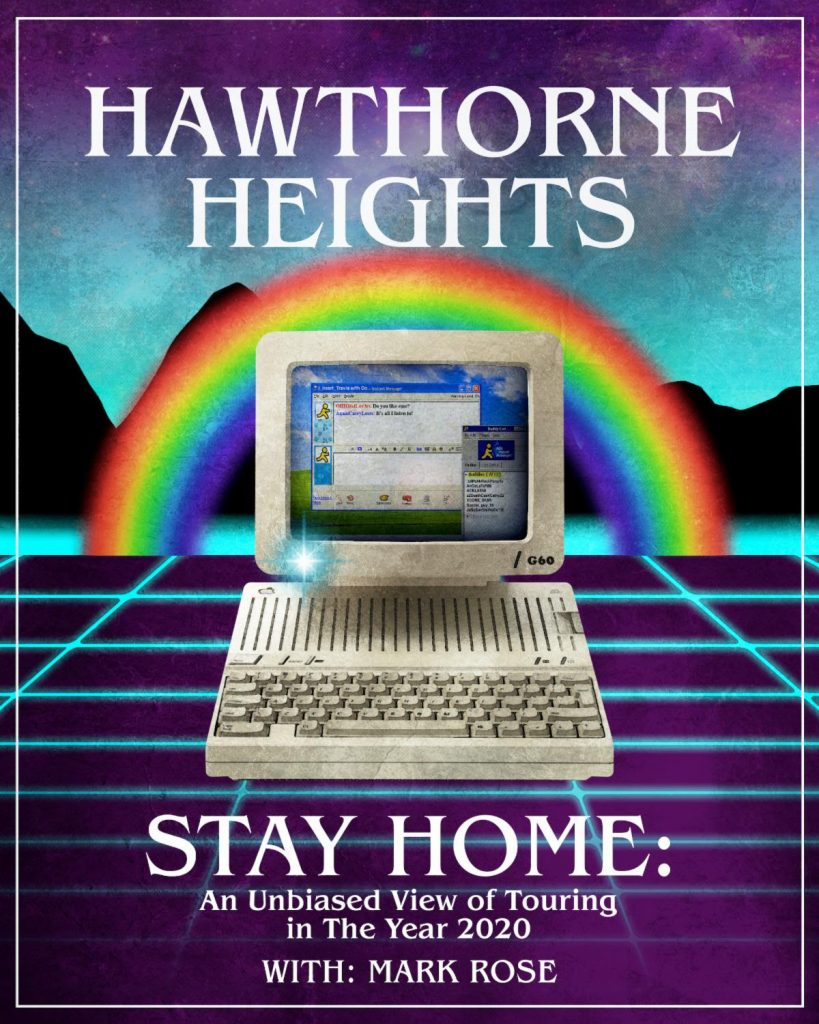 Hawthorne Heights Tour Poster