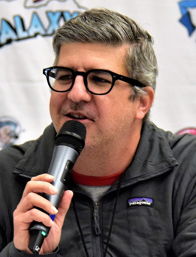 Dana Snyder aka Scratch from The Ghost and Molly McGee