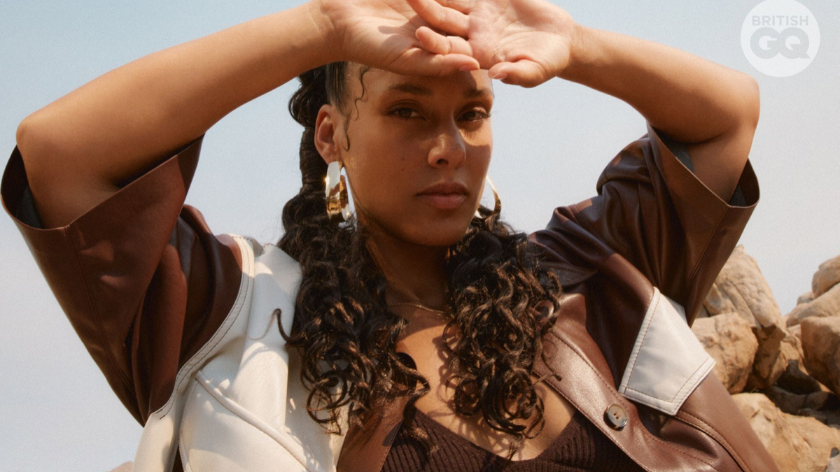 Alicia Keys Flawlessly Shows Us Her Visuals & How To Change The World, On GQ Hype