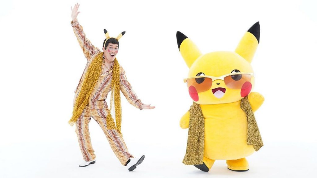 Global Superstar Pikotaro Teamed Up With Pokemon and Pikachu for a fun new song!