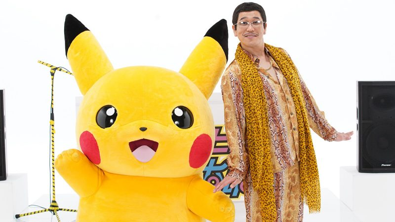 Global Superstar Pikotaro Teamed Up with Pokemon