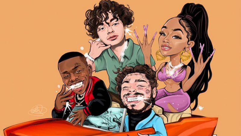 Saweetie-Tap-In-Post-Malone-Jack-Harlow-Post-Malone