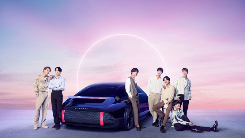 BTS Continue On The Road To World Domination With Hyundai