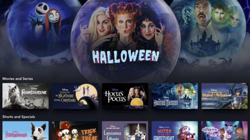October Is The Month Of Disney Halloween on Disney+!