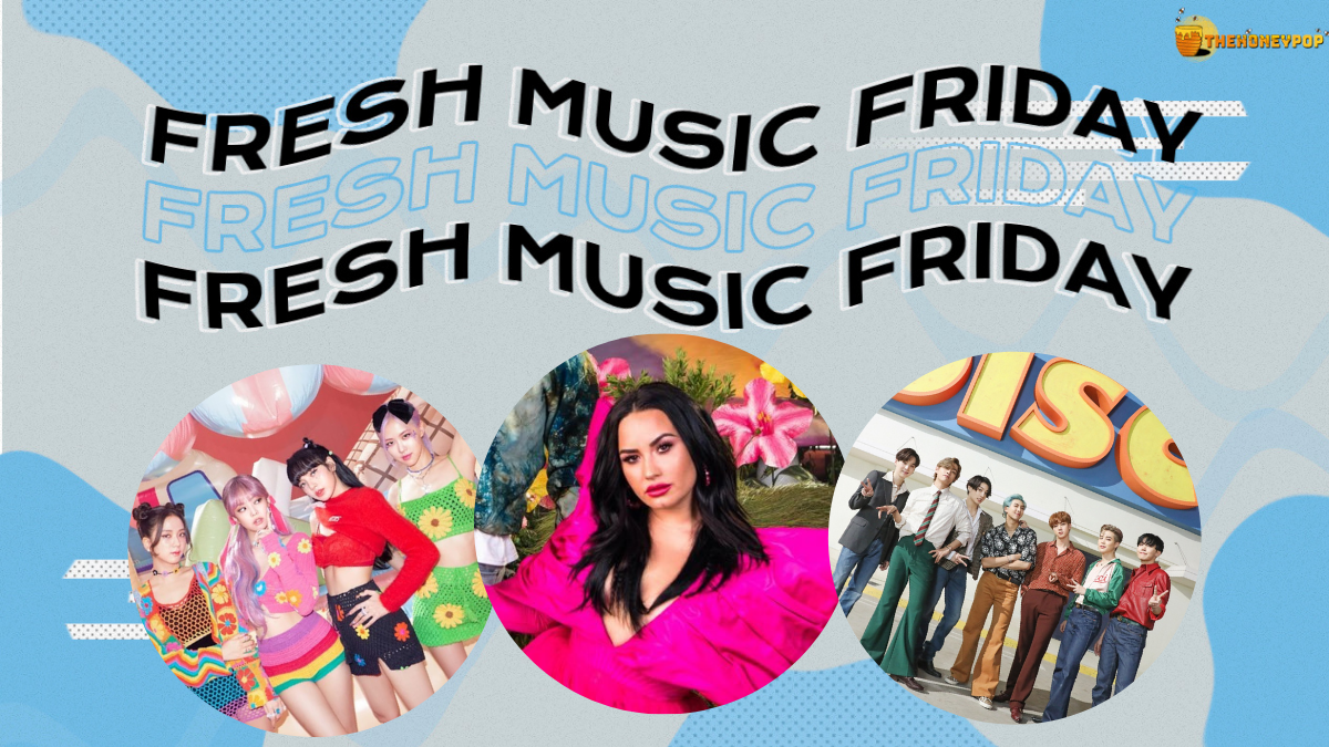 Fresh Music Friday: BLACKPINK, Demi Lovato, Jason Derulo & BTS… and MORE!