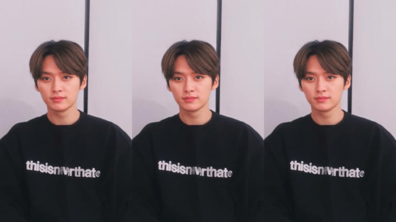 Fashion Fix: Lee Know of Stray Kids's thisisneverthat Sweater