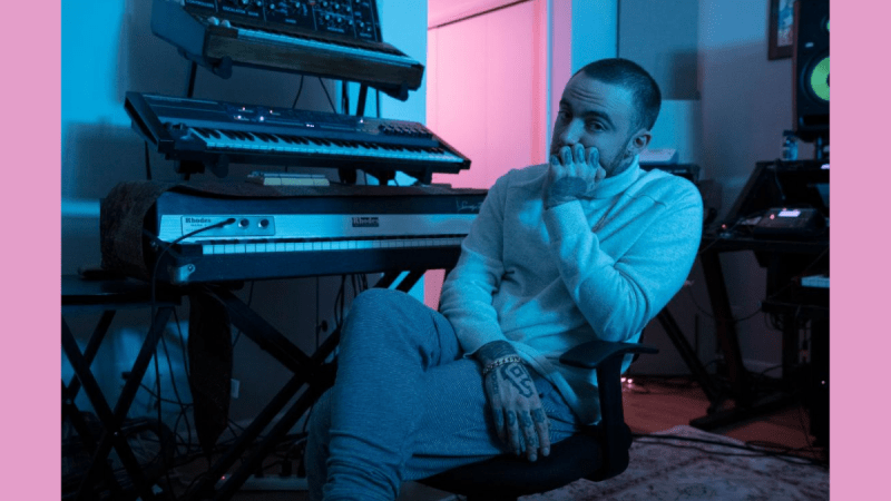 Mac Miller Swimming in Circles: Paired Perfection