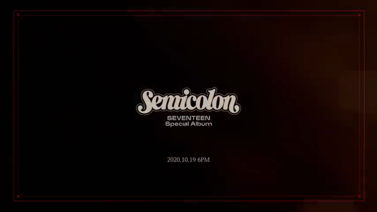 What We Know So Far About SEVENTEEN's Semicolon