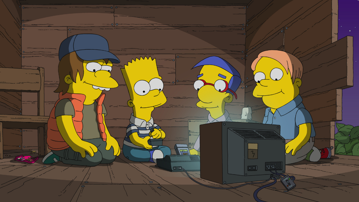 Catch Up With The Simpsons on Disney+!