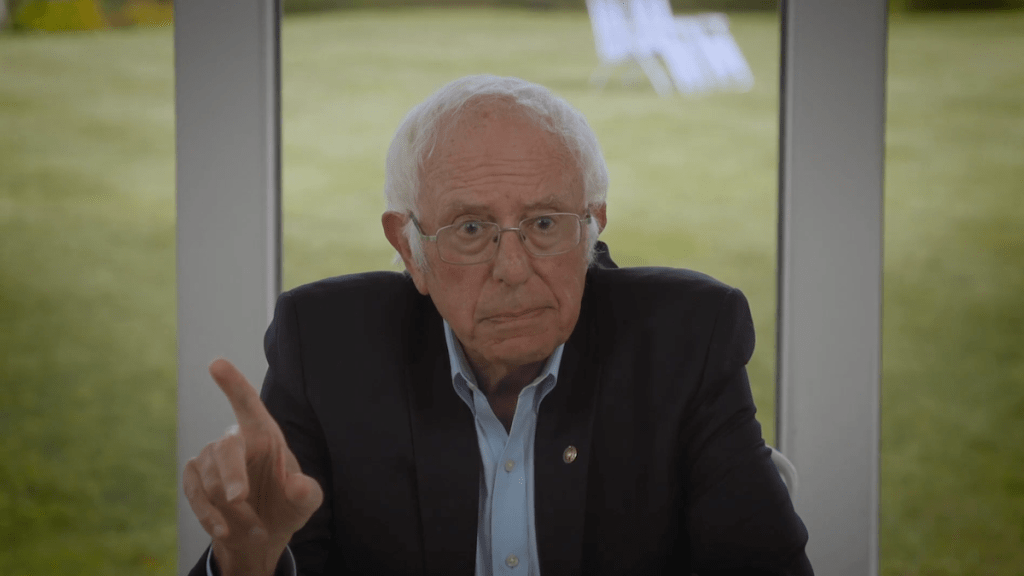 Bernie Sanders with Halsey for an informative dialogue about politics