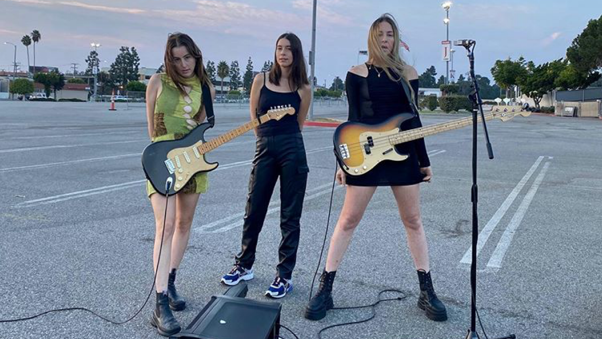 Haim Are Back To Tell You About The 'Man From The Magazine'