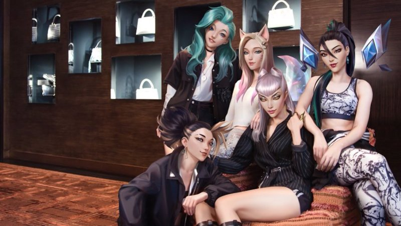 AI Band K/DA Makes an Impact on The K-Pop Industry